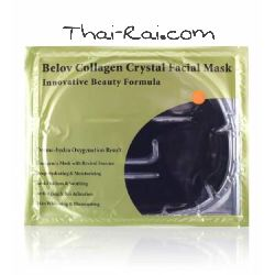 Belov collagen crystal facial mask с углем