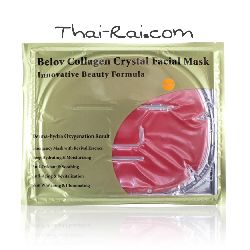 Belov collagen crystal facial mask красное вино