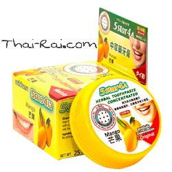 Травяная зубная паста с экстрактом манго 5 Star 4 a