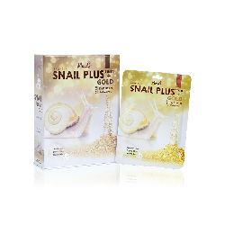 moods snail plus gold facial mask