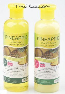 Шампунь и Бальзам-кондиционер для волос с экстрактом ананаса