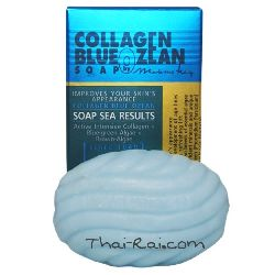 Madam heng collagen blue zean soap