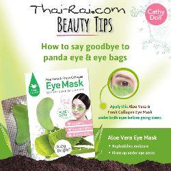 baby bright eye mask aloe vera & fresh collagen