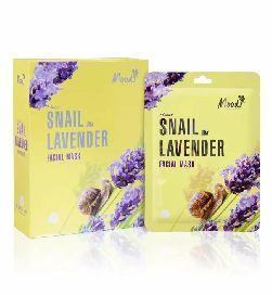 moods snail lavender facial mask