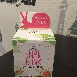 Крем для лица Snail Blink Brightening Cream