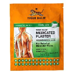 Пластырь tiger balm medicated plaster hr cool