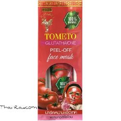 Thai Kinaree Tomato Glutathion Peel-off Face Mask
