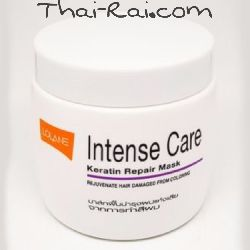lolane intense care keratin repair mask rejuvenate hair damagen from coloring