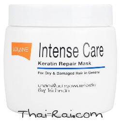 lolane intense care keratin repair mask for dry & damagen hair in general