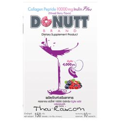 Питьевой коллаген Donutt Brand Collagen Peptide 10000mg Inulin Plus