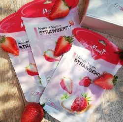 moods natural yogurt strawberry