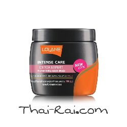 lolane intense care detox expert purifying hair mud