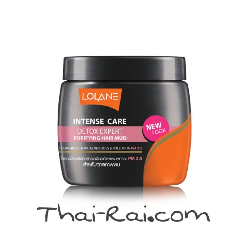 lolane intense care detox expert purifying hair mud