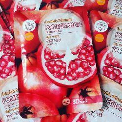 Vitamin pomegranate brightening facial mask