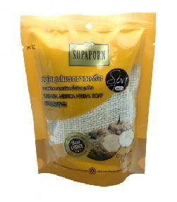 Мыло в мешочке с экстрактом Пуэрарии, Тамаринда и маслом Рисовых отрубей