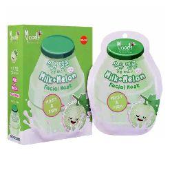 moods milk+melon facial mask
