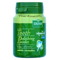 supaporn tooth polishing powder plus herbs