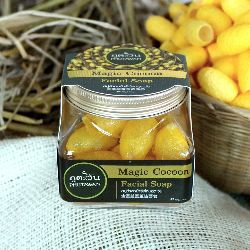 Phutawan Magic Cocoon Facial Soap