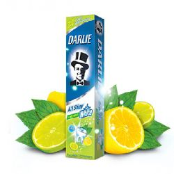 Darlie all shiny white lemon mint