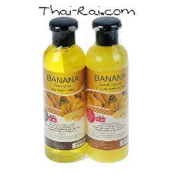 Набор: Шампунь+бальзам для волос Banna Банан 360+360 мл