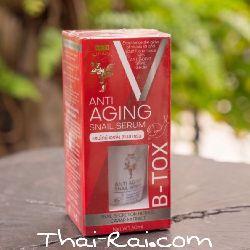 Thai Kinaree anti aging snail serum