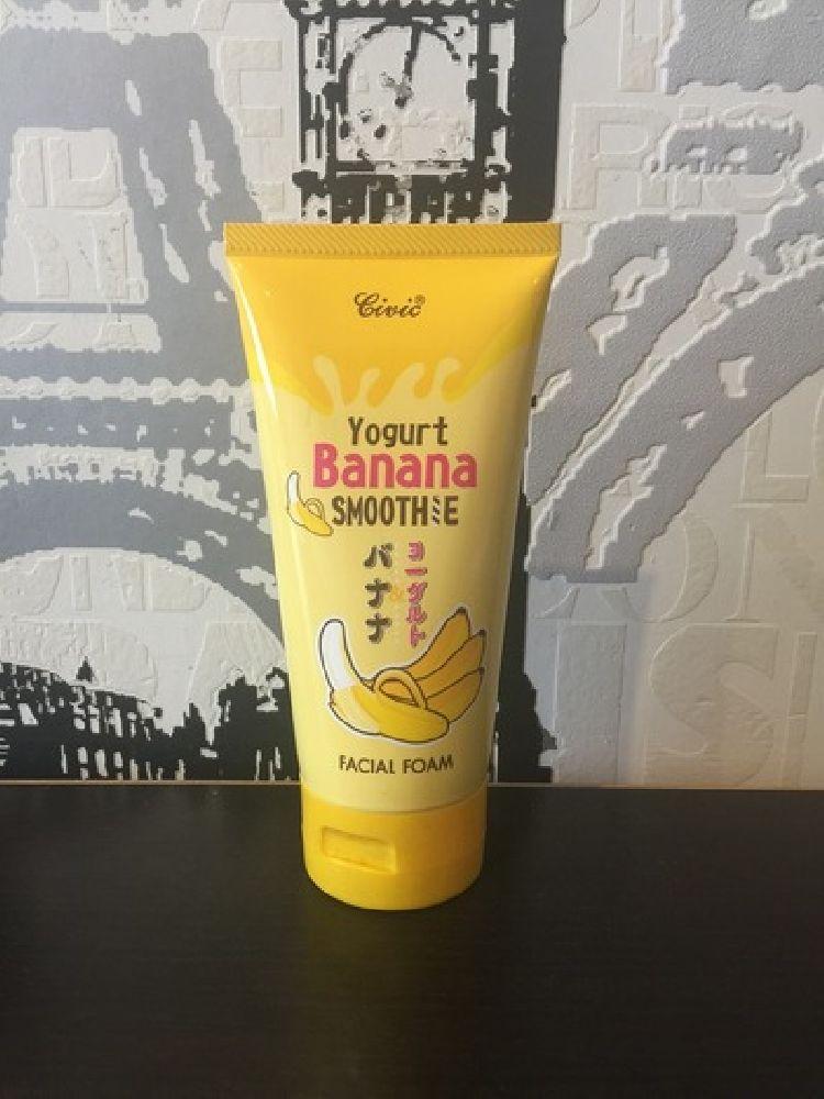 Пенка Yogurt Banana Smoothie Банановое смузи