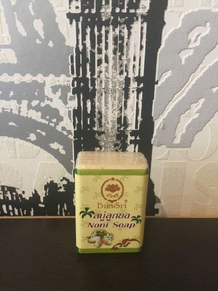 Аюрведическое натуральное мыло BuaSri Noni Soap