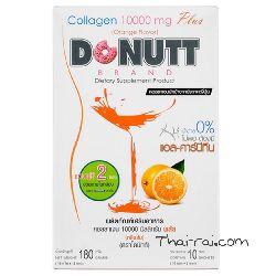 Питьевой коллаген Donutt Brand Collagen Peptide 10000mg Plus с апельсиновым вкусом