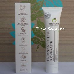 Зубная паста Тропикана coconut oil toothpaste