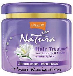 Lolane Natura Hair Mask White Lily Extract 250g