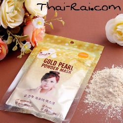 gold pearl powder mask 50г