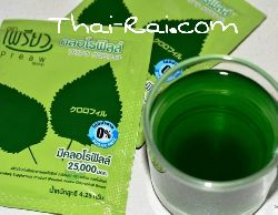 Chlorophyll Dietary Supplement Product