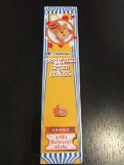 Зубная паста с апельсиновым вкусом