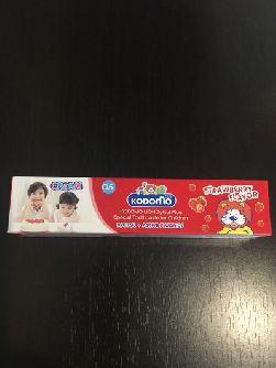 Зубная паста с вкусом клубники