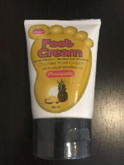 Крем для ног Banna с экстрактом ананаса