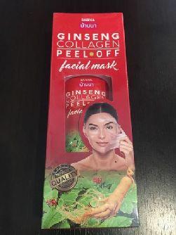 Маска для лица Banna с экстрактом корня жень-шеня