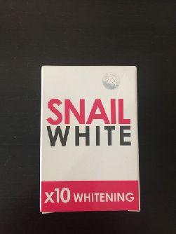 Мыло Snail White с улиточной слизью