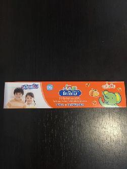 Детская фруктовая зубная паста