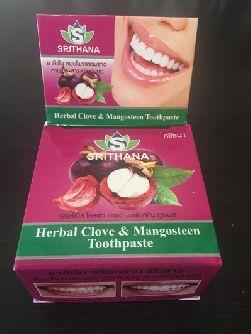 Зубная паста Srithana Мангостин и Травы