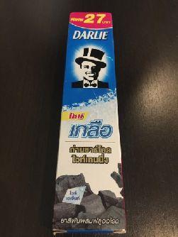 Угольная зубная паста Darlie 75гр