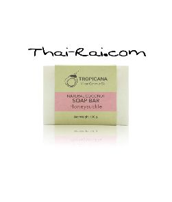 Tropicana Natural Coconut Soap Bar Honeysuckley