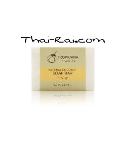 Tropicana Natural Coconut Soap Bar Fruity