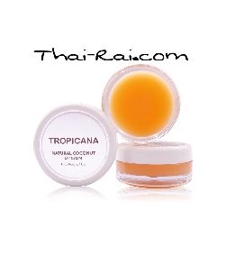 Natural coconut lip balm 10 g. mango spirit
