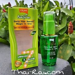 lolane natura daily hair serum magic in one for color care