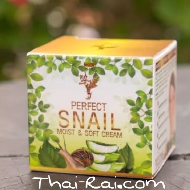 thai kinaree perfect snail moist soft cream