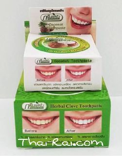 green herb herbal toothpaste 2 in 1