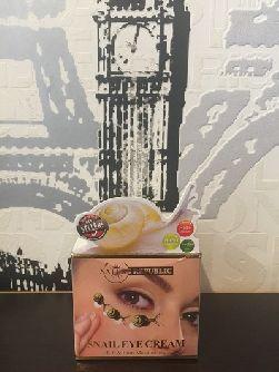 Крем с улиточной слизью Snail Eye Cream от Nature Republic